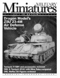 Military Miniatures in Review Special Inaugural Issue (First Issue)