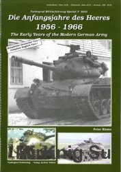 The Early Years of the Modern German Army (Tankograd Militarfahrzeug Spezial 5002)
