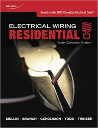 Electrical Wiring: Residential, 6th Canadian Edition