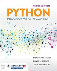 Python Programming in Context 3rd Edition